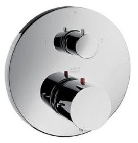 hansgrohe sichtteil thermostat philippe starck mit absperrung und umstellung verchromt 10720. Black Bedroom Furniture Sets. Home Design Ideas