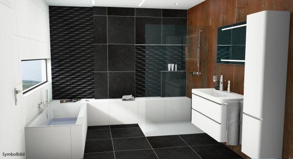 traumbad korsika wt mit m beln dusche und bw bad hk option mit montage komplett b der. Black Bedroom Furniture Sets. Home Design Ideas