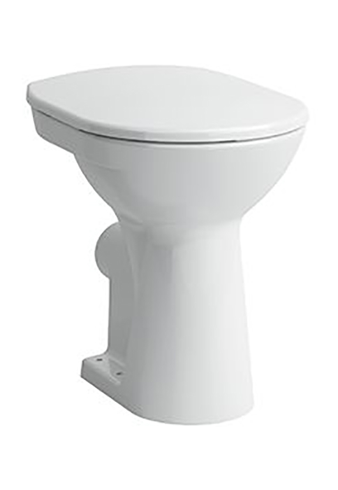 laufen 2595 5 stand tiefsp l wc pro weiss abgang waagrecht erh ht wc komfortabel tief wc. Black Bedroom Furniture Sets. Home Design Ideas