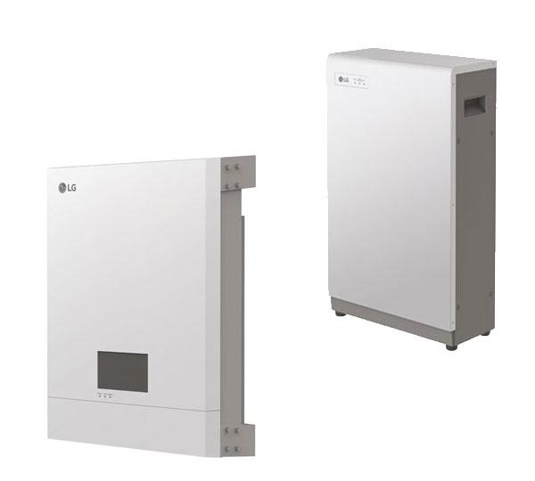 lg energy storage system 6 4 kwh speicherset mit wechselrichter photovoltaik stromspeicher. Black Bedroom Furniture Sets. Home Design Ideas